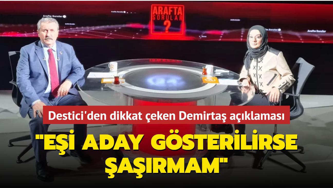 Mustafa Destici 24 TV'de Esra Elönü'nün sorularını yanıtladı