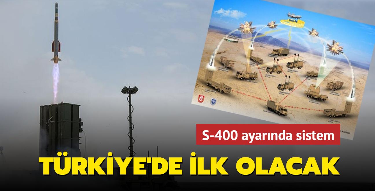 S-400 ayarında sistem... Türkiye'de ilk olacak