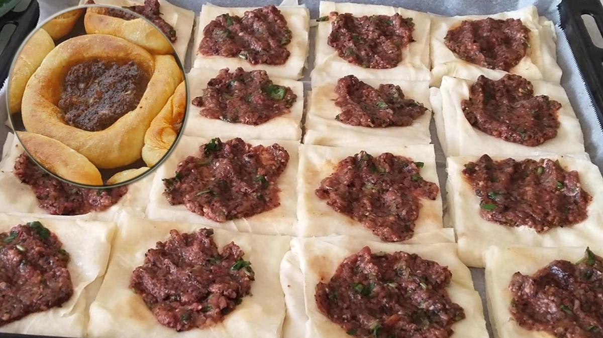 Farklı börek tarifi arayanlara kurtarıcı lezzet