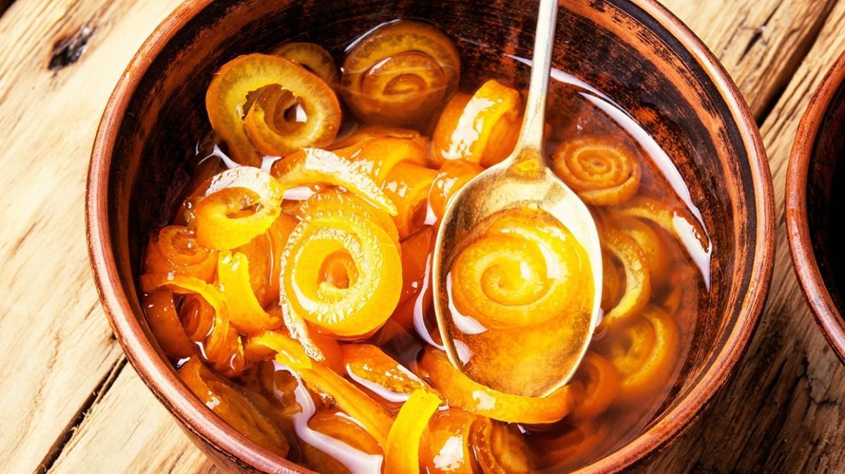 Akdeniz'in vazgeçilmeyen kahvaltı lezzeti turunç reçeli tarifi