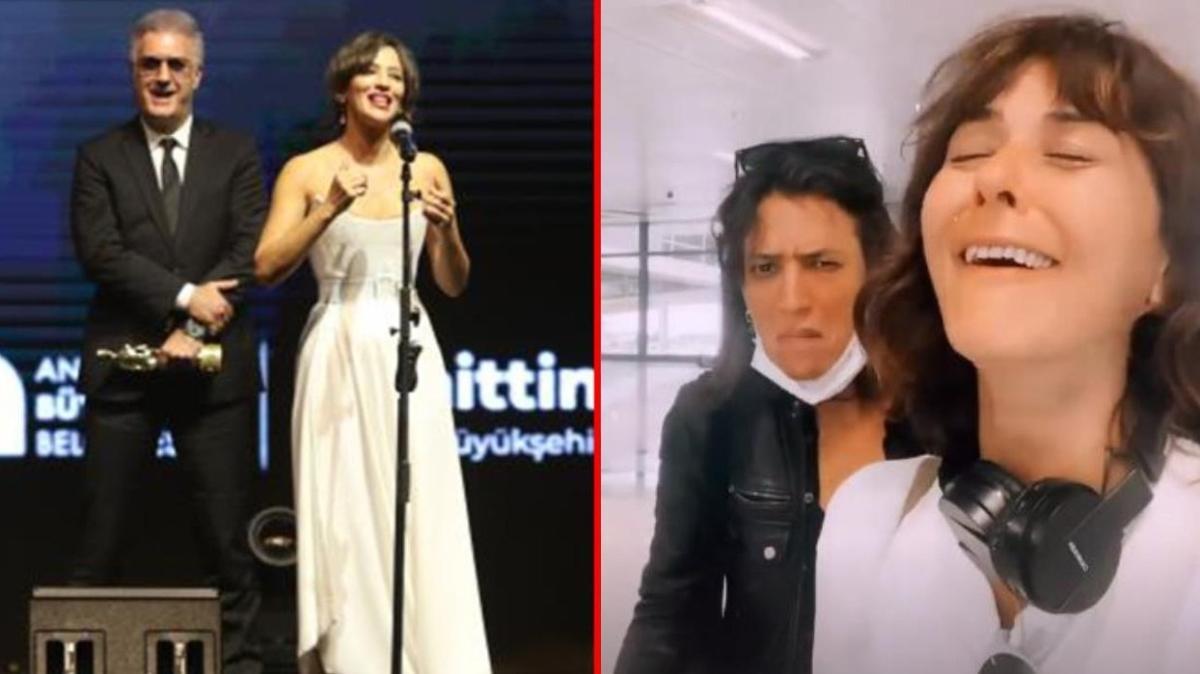 Altın Portakal'da Nihal Yalçın'la gerginlik yaşayan Tamer Karadağlı sessizliğini bozdu