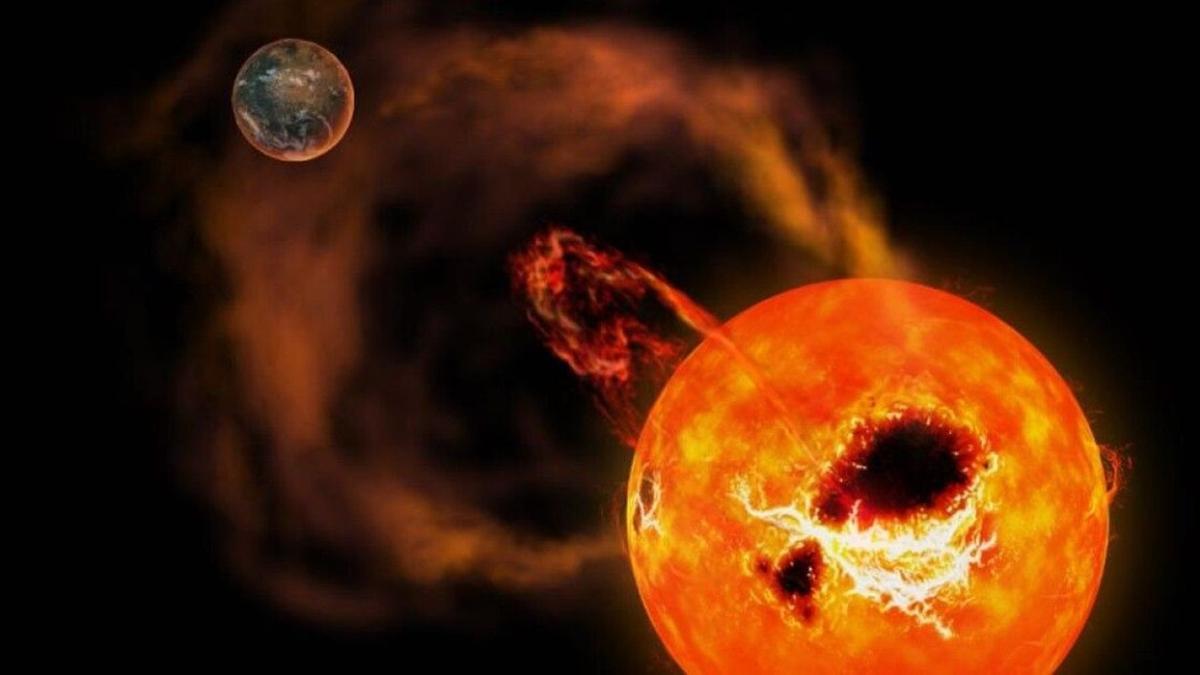 """Güneş patlaması ne zaman olacak, dünyayı nasıl etkiler"""" Güneş fırtınası kaç gün sürer, nelere sebep olur"""""""