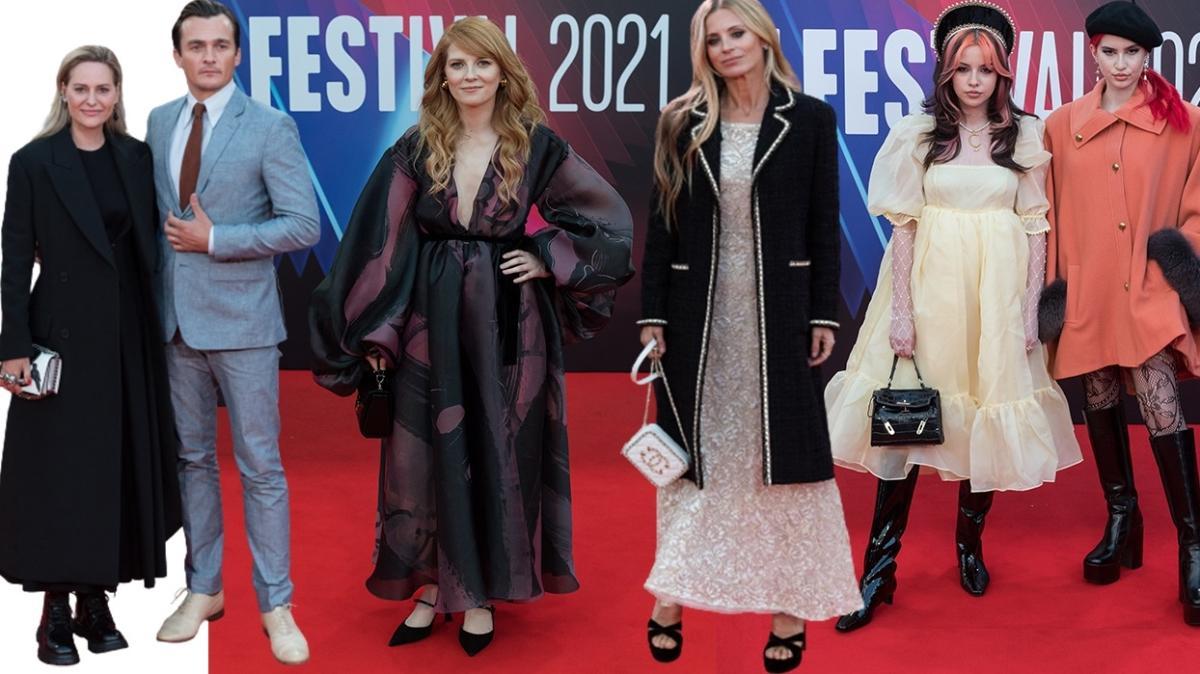 Londra Film Festivali'nde kırmızı halının en şıkları
