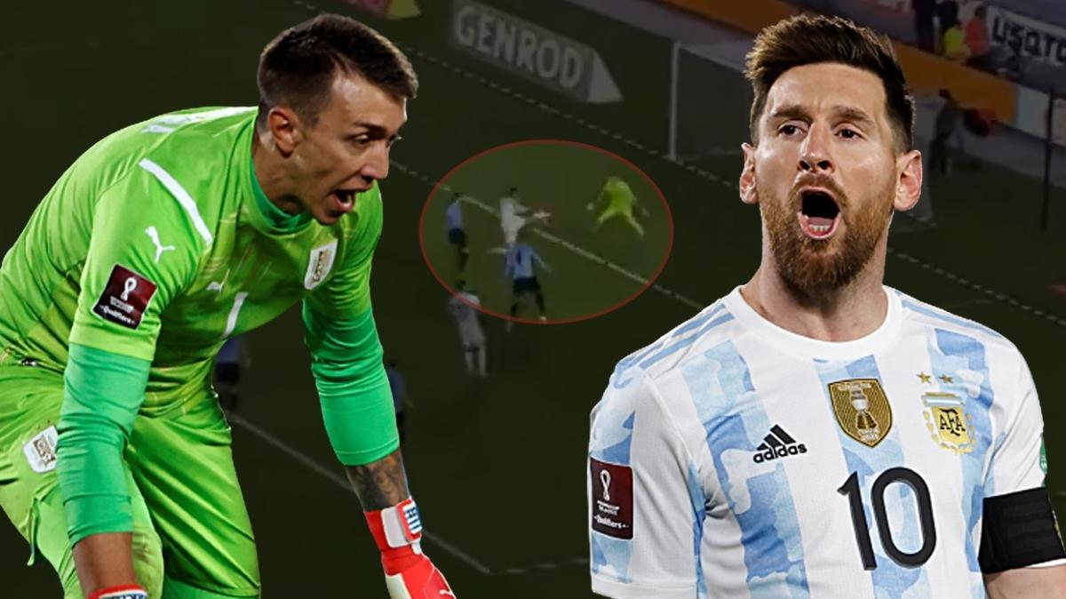 Messi Muslera'ya şut çekmeden gol attı! İnanılmaz hata! İşte o anlar...