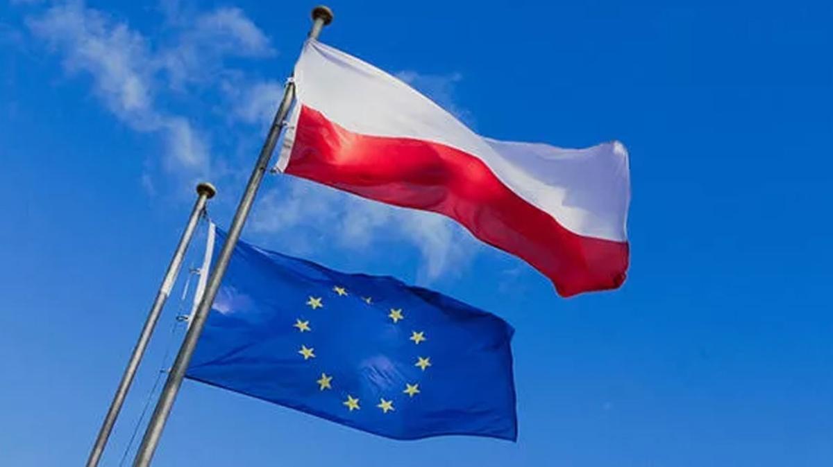 Polonya'da AB üyeliğine destek için gösteri düzenlendi