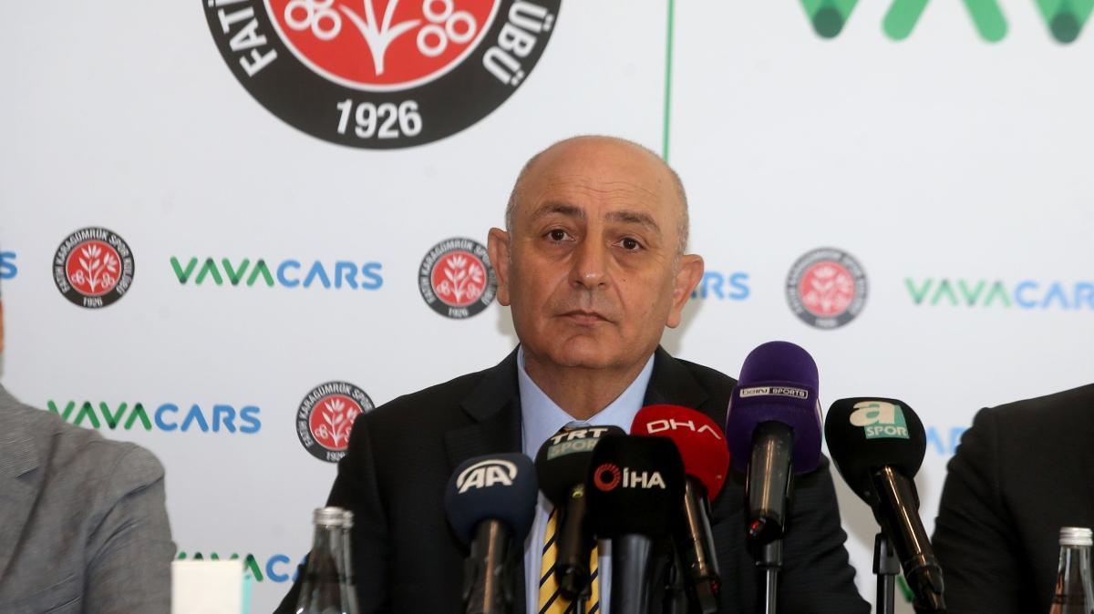 VavaCars Fatih Karagümrük Başkanı Süleyman Hurma: Eğer bu işi yapamazsam bırakırım