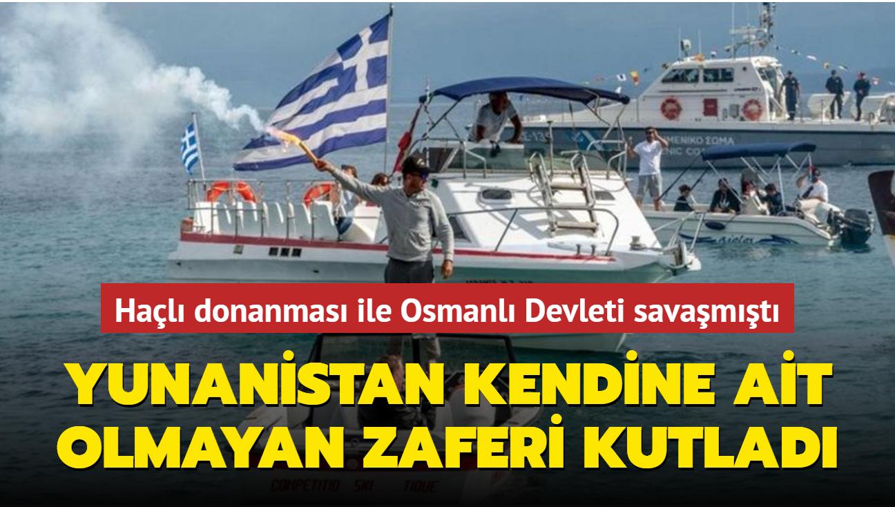 Yunanistan Haçlı donanmasının Osmanlı Devletine karşı zaferini kutladı