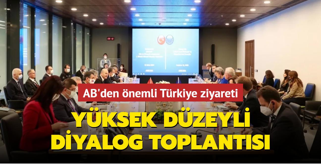 """AB İçişleri Sorumlusu Johansson: Türkiye ile ilk """"Yüksek Düzeyli Diyalog"""" toplantıları yaptık"""