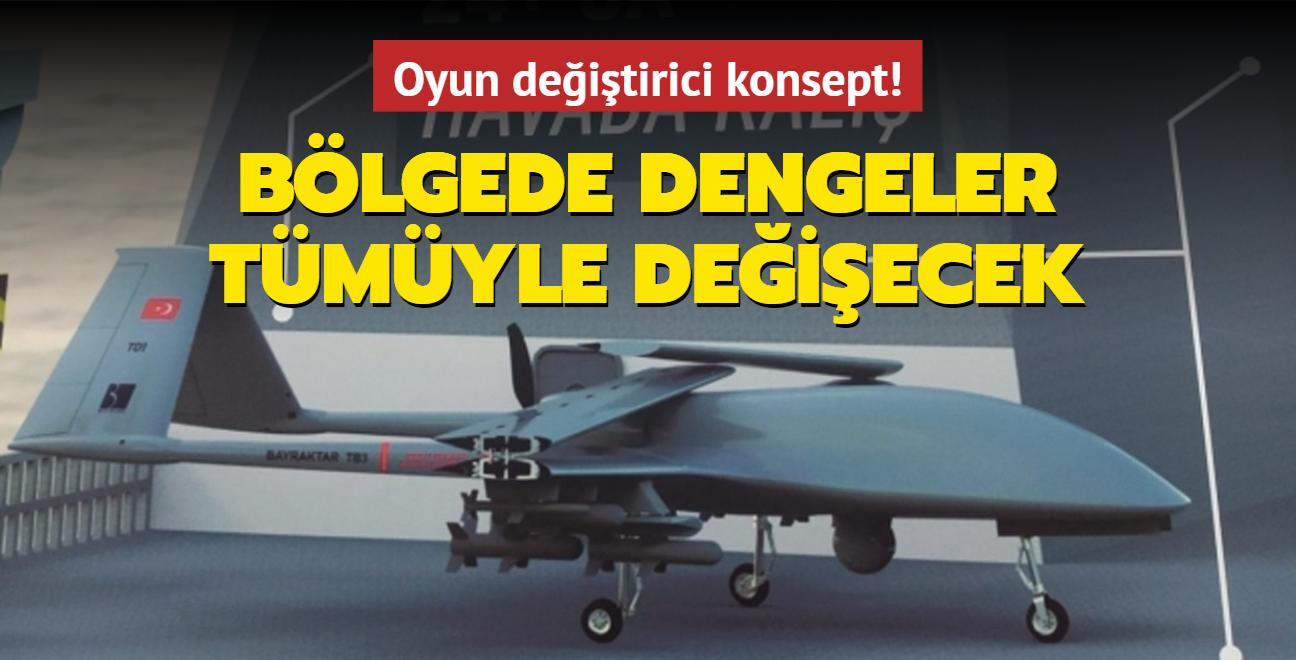 Dünyada ilk kez Türkiye icra edecek... Bölgede dengeler tümüyle değişecek