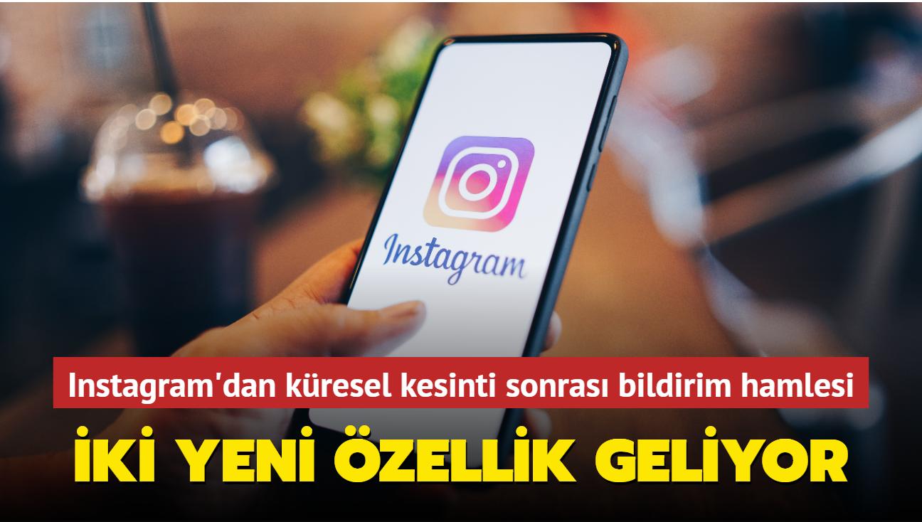 Instagram, hizmet kesintilerini kullanıcılara kendisi bildirmeye başlayacak