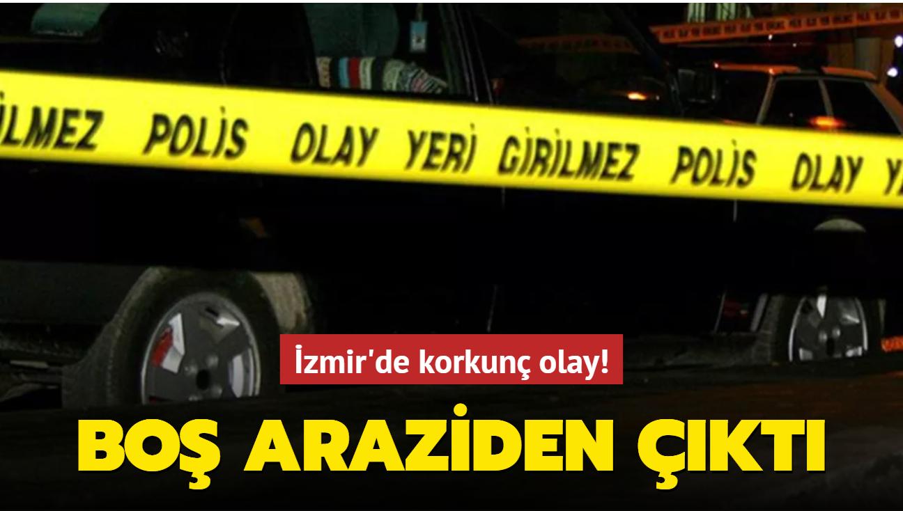 İzmir'de korkunç olay! Boş araziden vücut parçaları ve tıbbi atıklar çıktı...