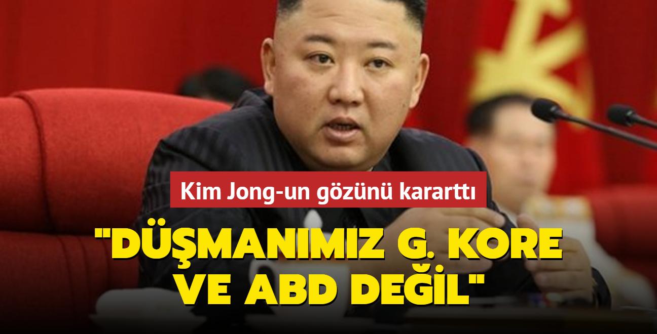 Kim Jong-un: Düşmanımız G. Kore ve ABD gibi güçler değil