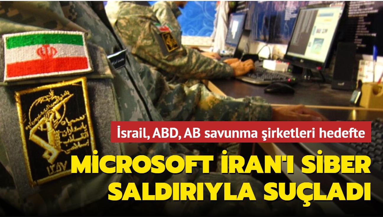 Microsoft'tan bilgisayar korsanlığı açıklaması: İran İsrail, ABD, AB şirketlerine saldırdı
