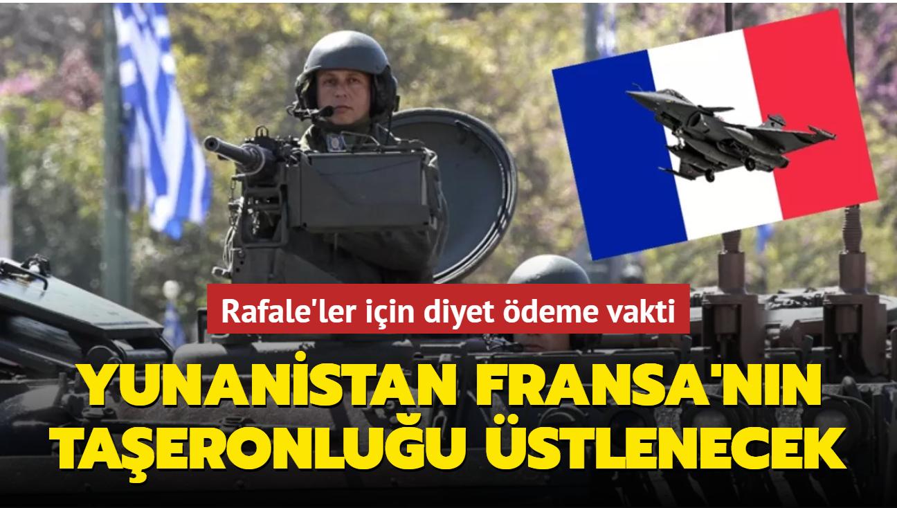 Rafale'ler için diyet ödeme vakti... Yunanistan Fransa'nın taşeronluğu üstlenecek