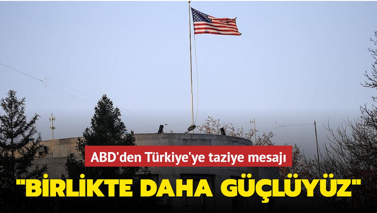 Son dakika haberi... ABD'den Türkiye açıklaması: Karkamış'taki saldırıyı kınıyoruz