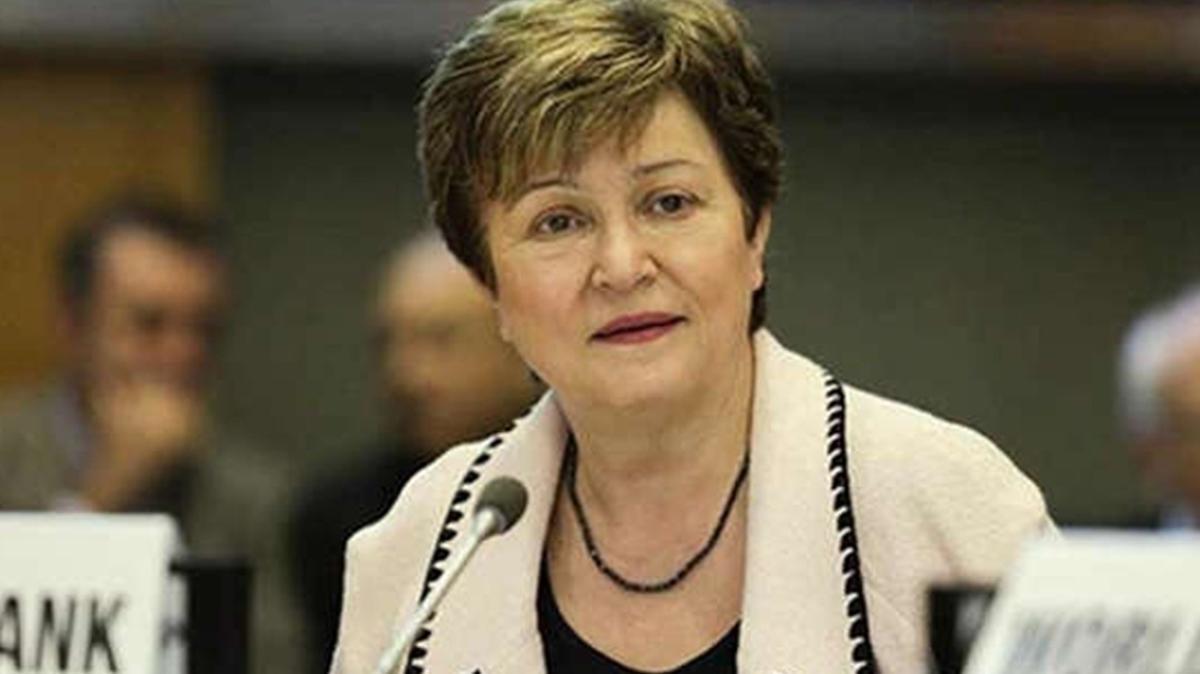 IMF'den Başkan Georgieva'ya destek