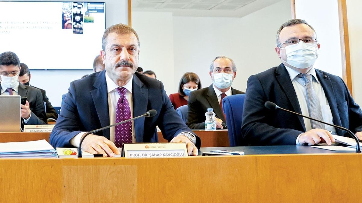 Merkez Bankası Başkanı Şahap Kavcıoğlu: Cari açık düzeliyor
