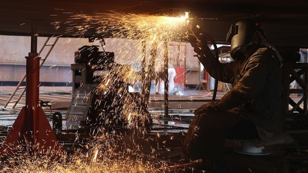 Sanayide çarklar dönüyor... Yıllık bazda yüzde 13,8 arttı