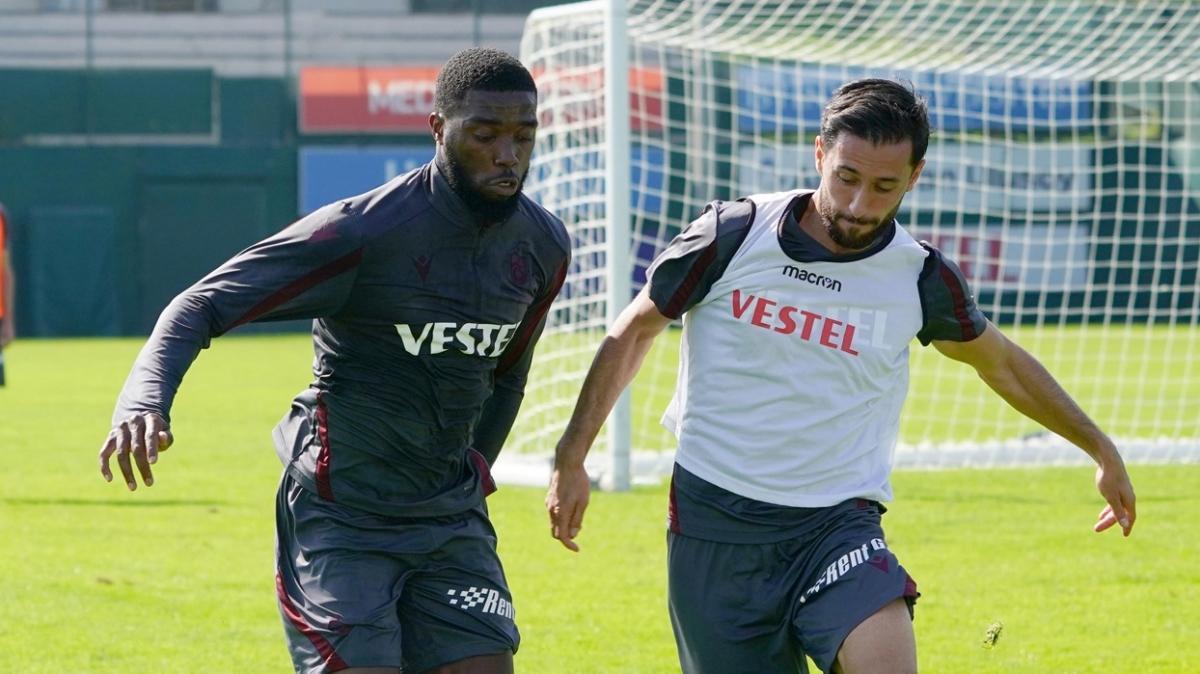Trabzonspor 3 eksikle Fenerbahçe maçına hazırlanıyor