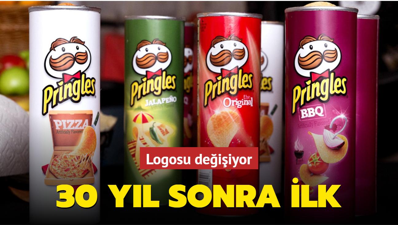 30 yıl sonra ilk! Pringles'ın logosu değişiyor