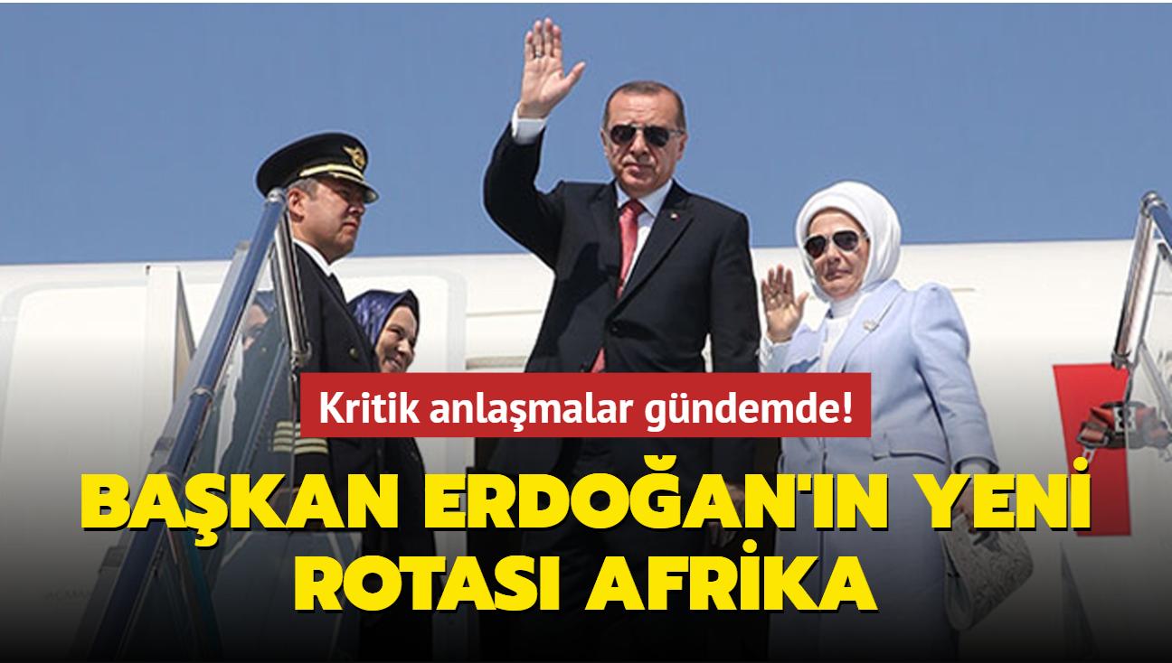 Başkan Erdoğan Afrika'ya gidiyor