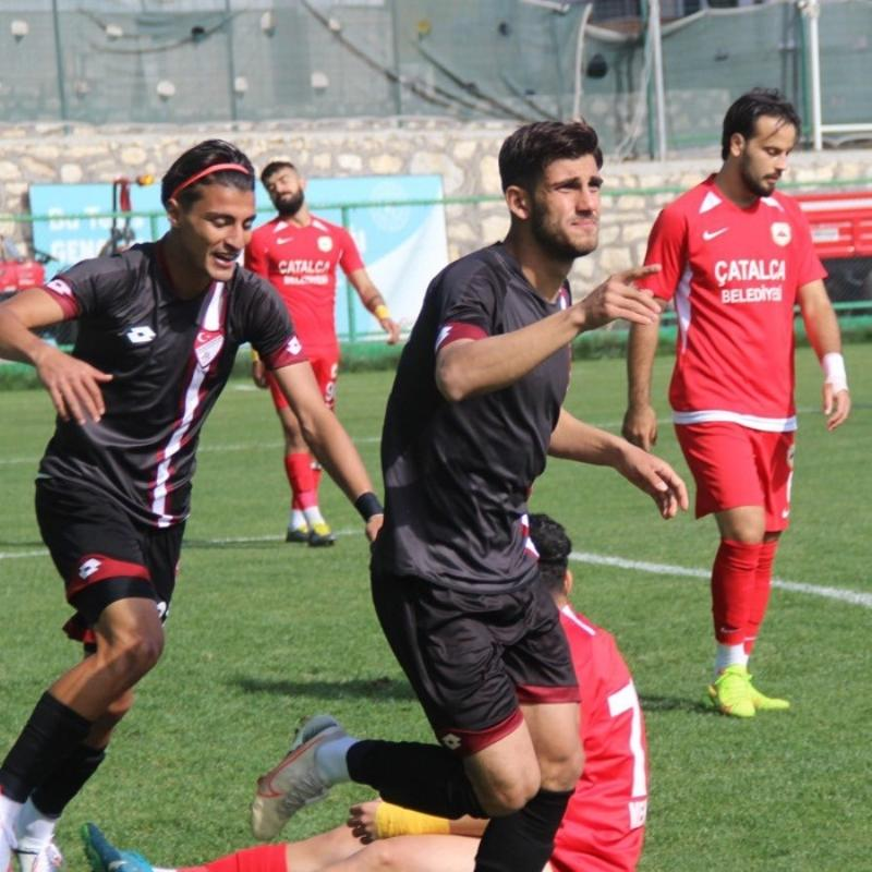 Elazığspor-Çatalcaspor maçında gol yağmuru