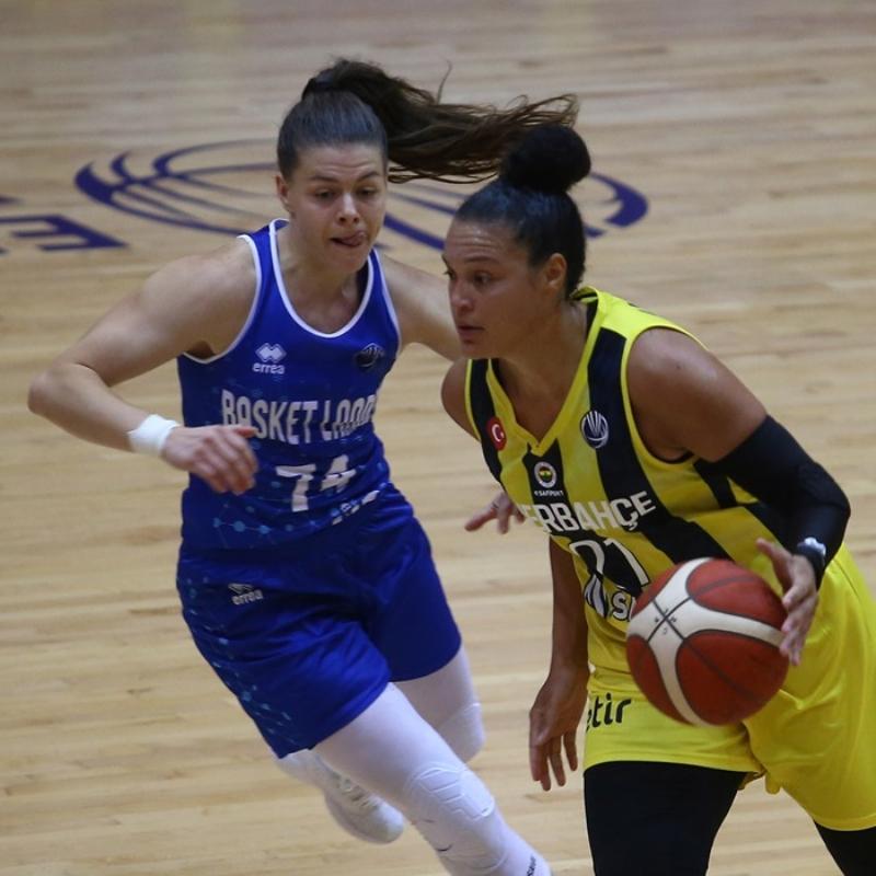 Fenerbahçe son periyoduna önde girdiği Basket Landes maçını kaybetti
