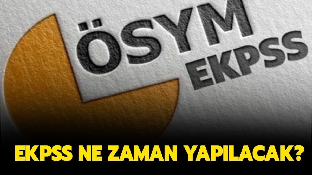 """2022 EKPSS sınavı ne zaman"""" ÖSYM EKPSS başvuruları ne zaman alınacak"""""""
