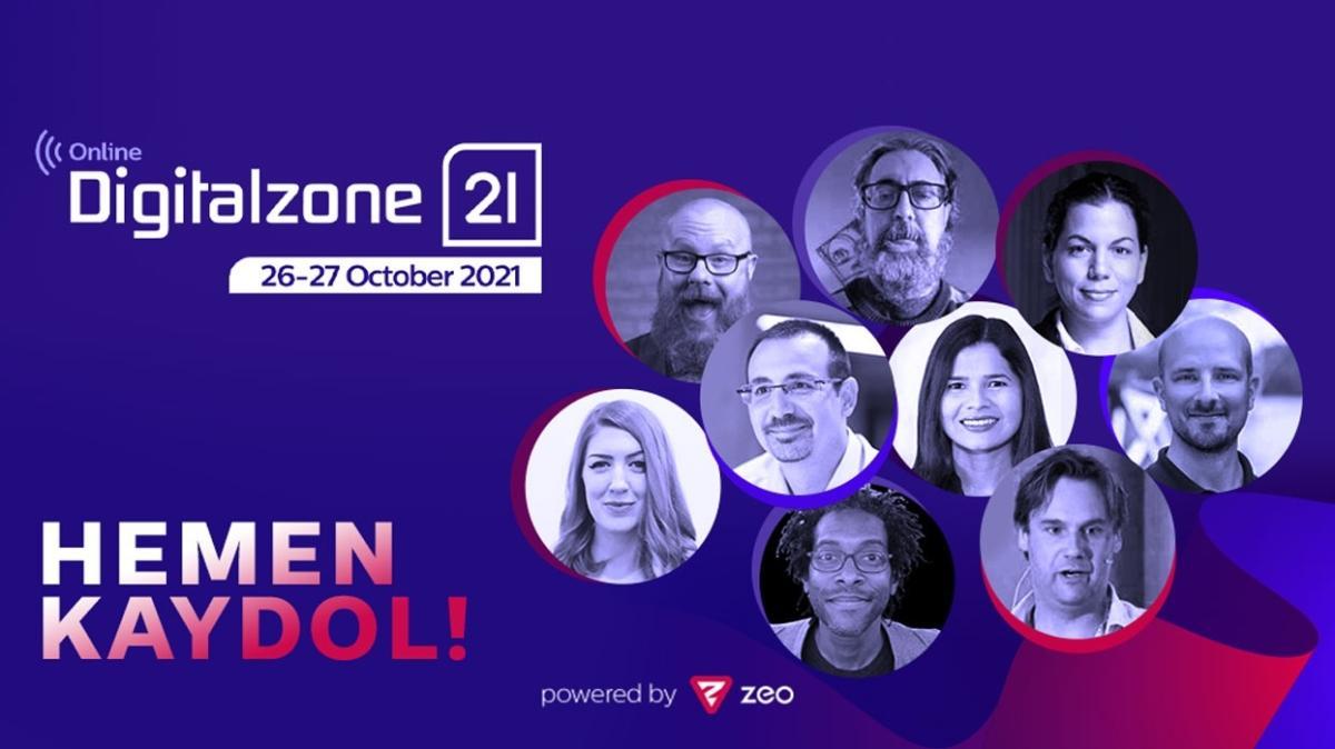Doğu Avrupa'nın en büyük dijital pazarlama konferansı Digitalzone'21 Online 26-27 Ekim'de!