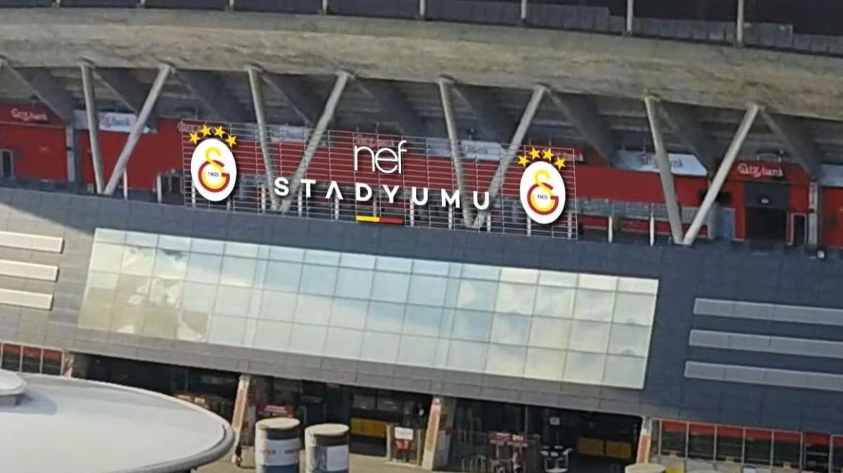 Galatasaray NEF Stadyumu'nda değişime gidiliyor
