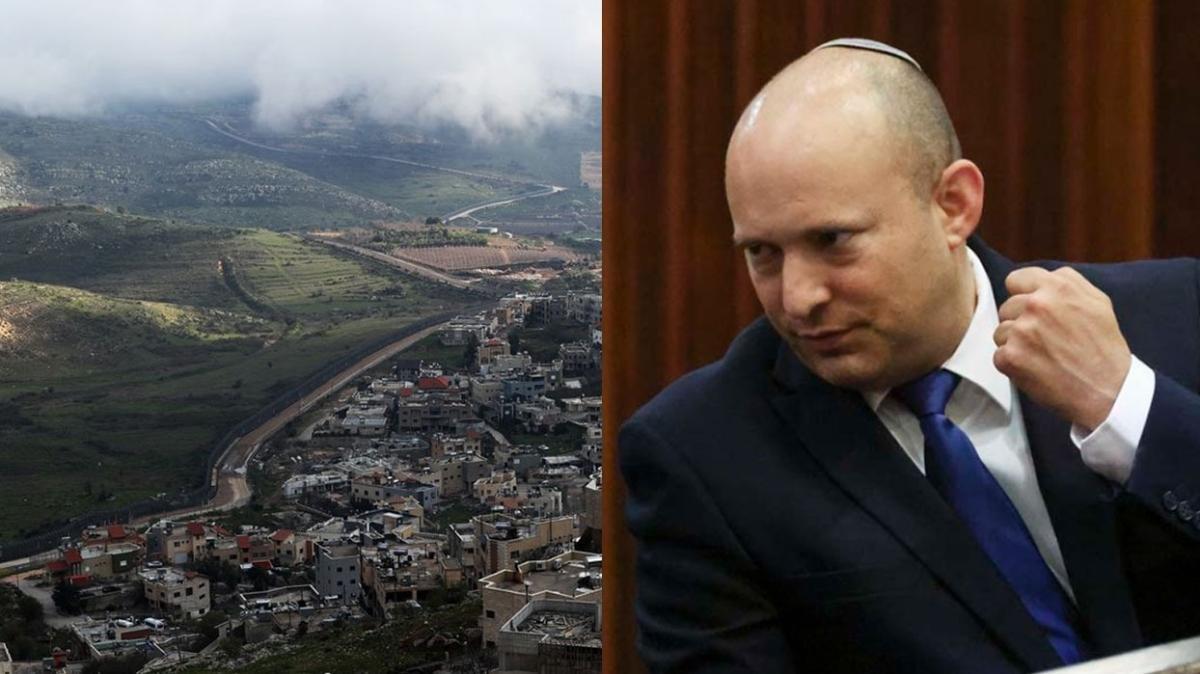 """Naftali Bennett: """"Golan Tepeleri İsrail'dir, nokta"""""""