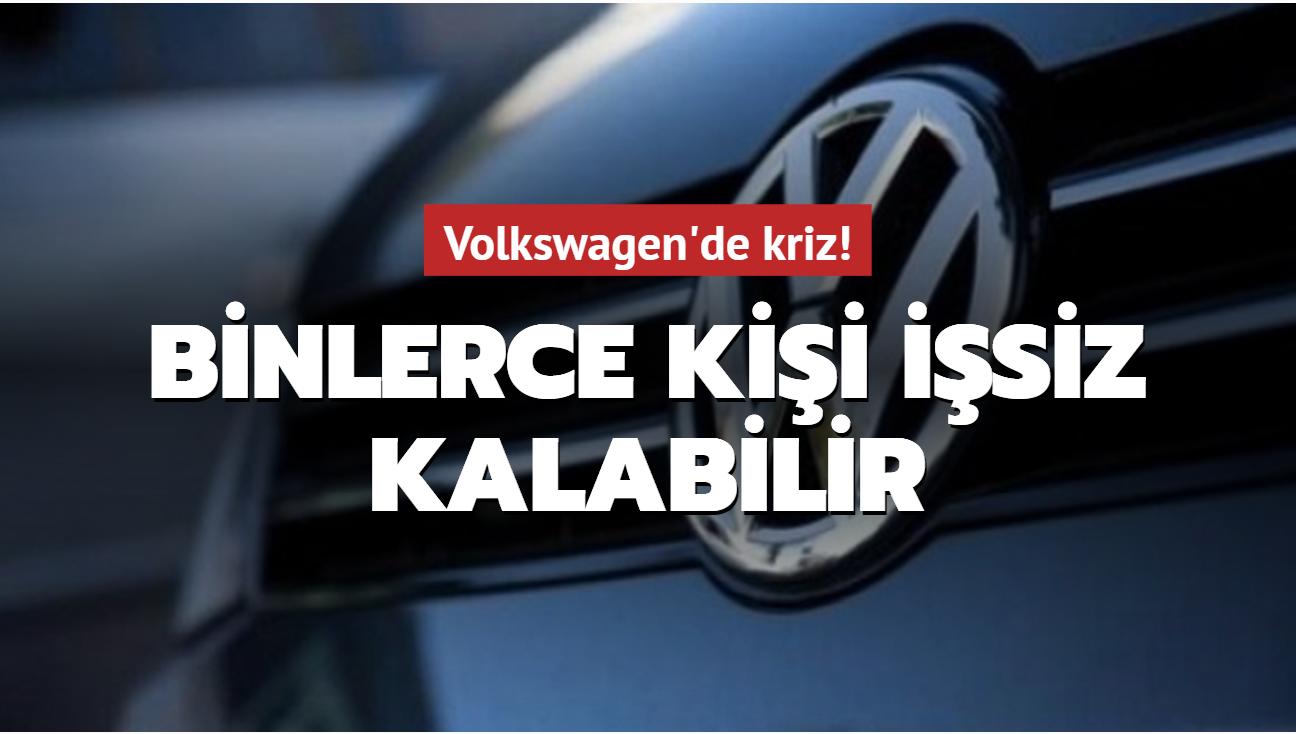 Volkswagen toplantısında kriz çıktı! Binlerce kişi işsiz kalabilir