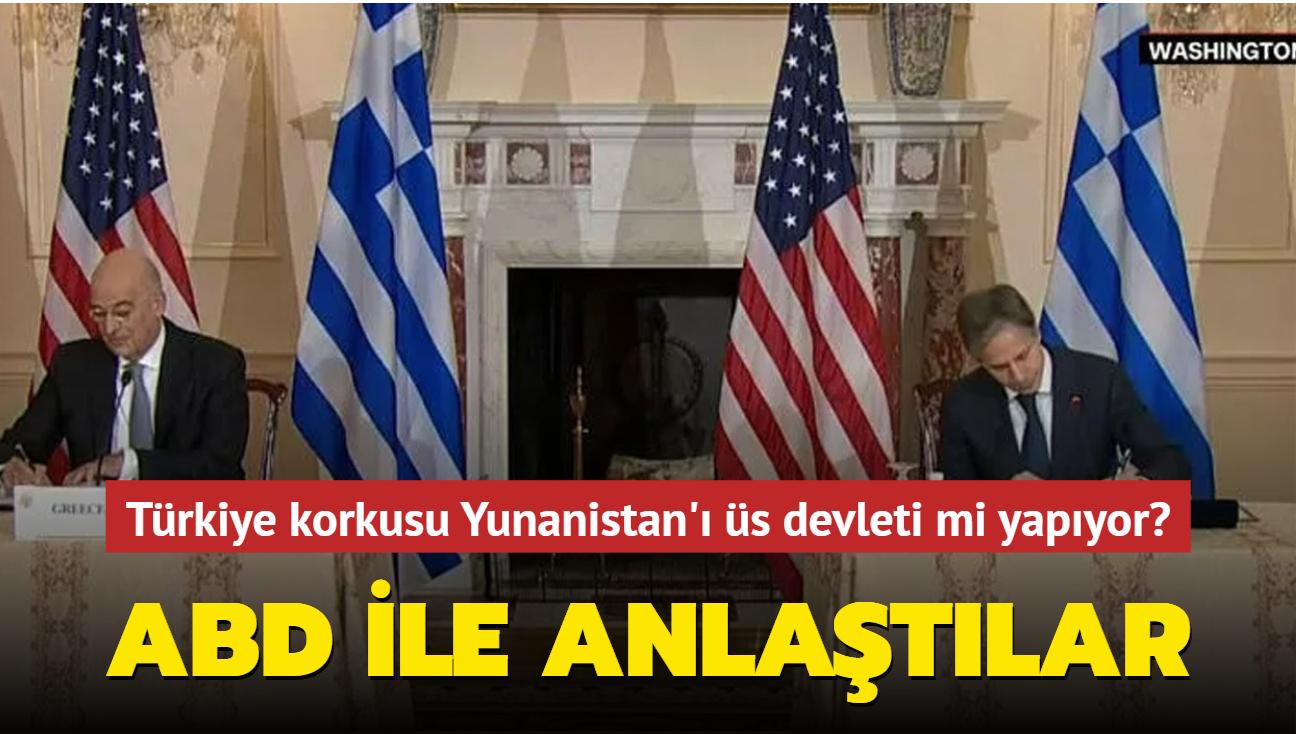 """ABD ile anlaştılar... Türkiye korkusu Yunanistan'ı üs devleti mi yapıyor"""""""
