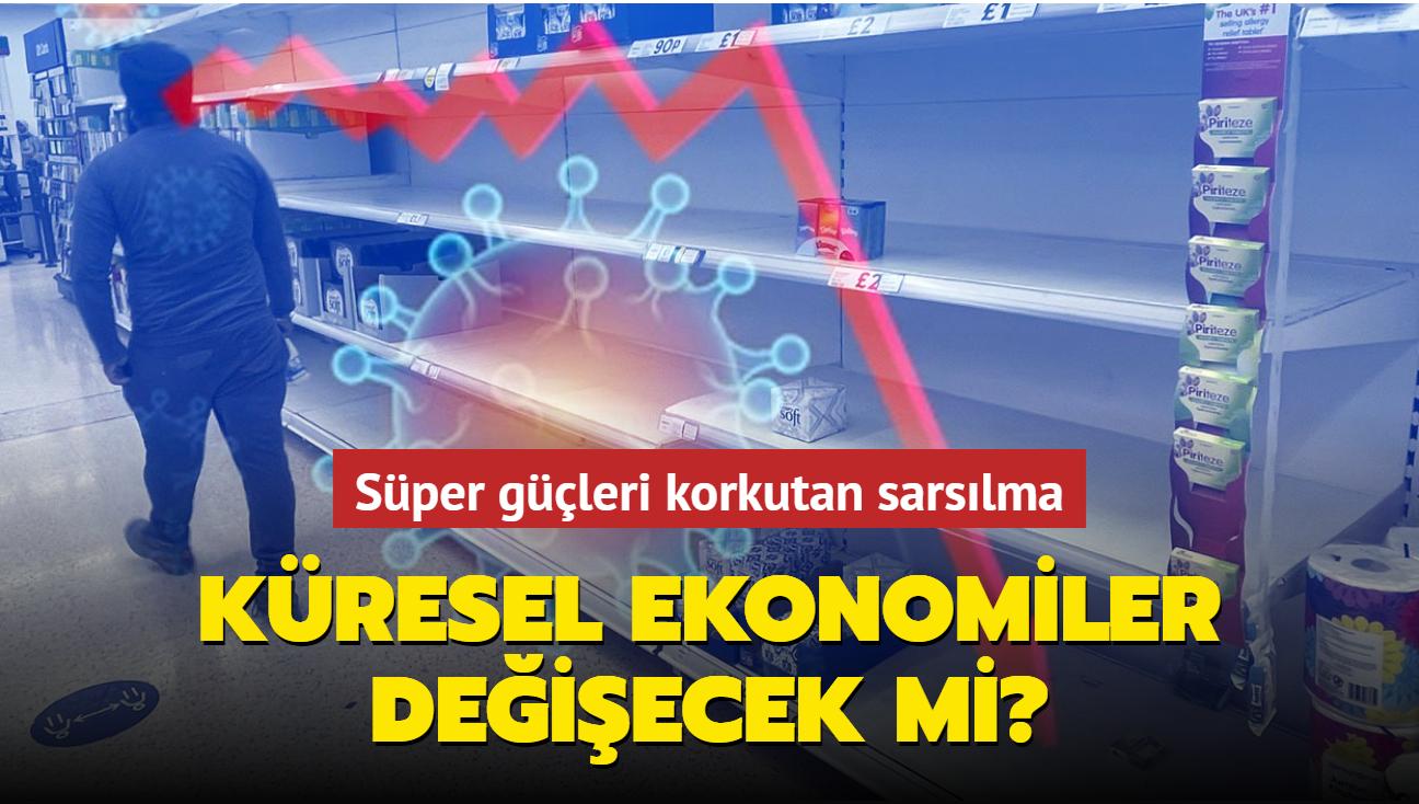 """Küresel ekonomilerdeki sarsılma korkutuyor... Süper güçler değişecek mi"""""""