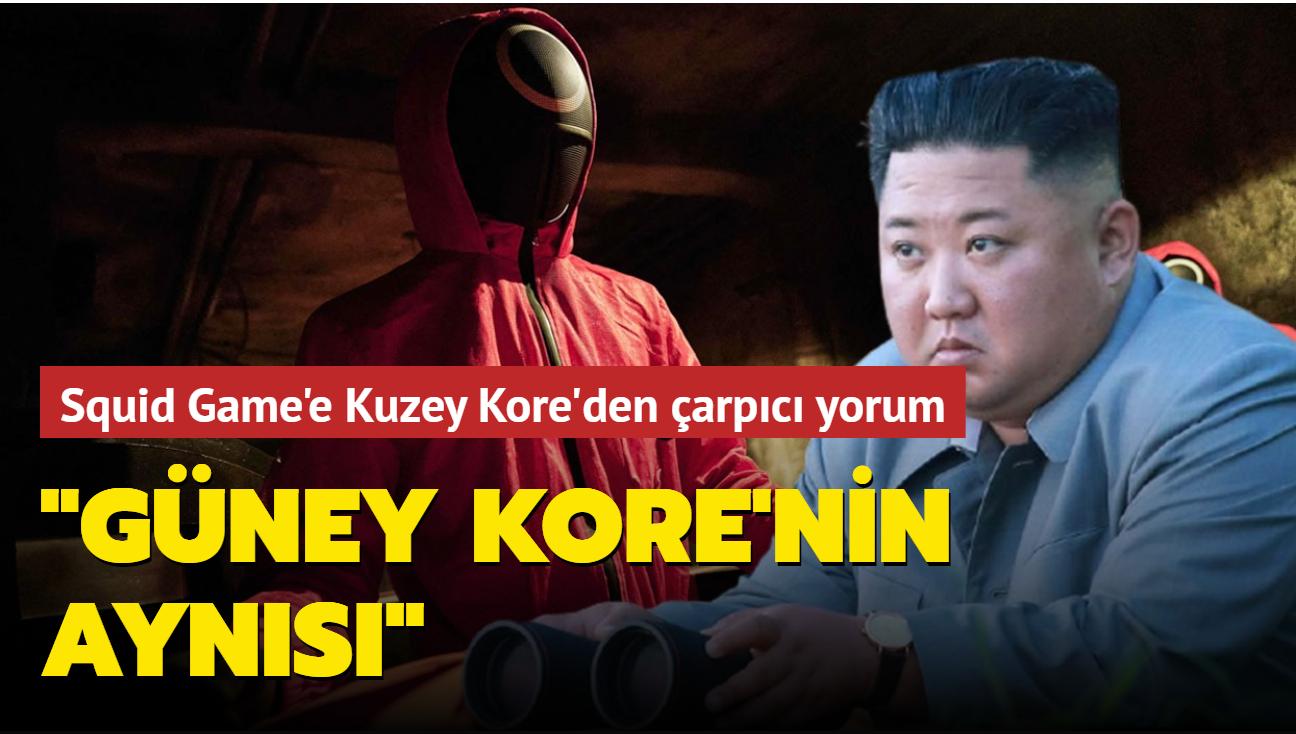 Kuzey Kore: 'Squid Game' Güney Kore'nin 'acımasız' toplumunu yansıtıyor