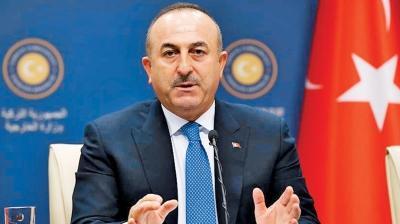 Bakan Çavuşoğlu'ndan ABD ve Rusya'ya sert tepki: Verdiğiniz silahla şehit düşüyorlar