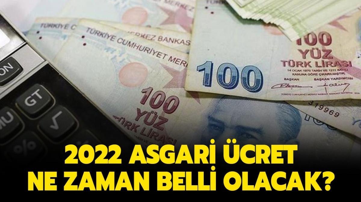 """2022 asgari ücret ne kadar olacak"""" Yeni yılda Asgari ücret net ve brüt kaç TL olacak"""""""