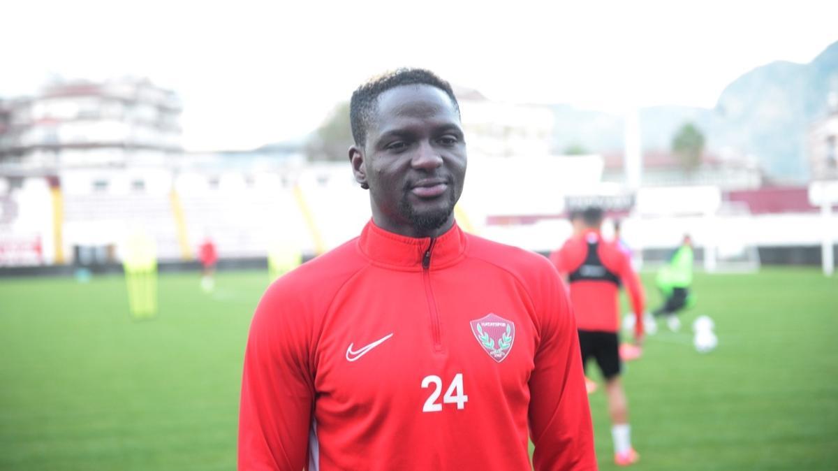 Hatayspor'dan açıklama: David Akintola'ya ocak ayına kadar ödemesini yapacağız