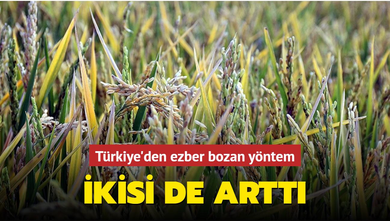 """""""Suya göre tarım"""" yöntemiyle tarımda tasarruf ve verimlilik sağlandı"""
