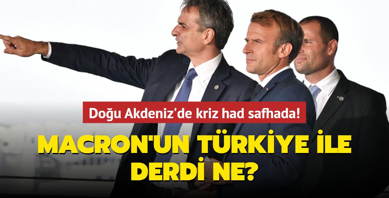 """Doğu Akdeniz'de gerilim had safhada! Macron'un Türkiye ile derdi ne"""""""