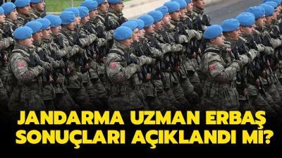 Jandarma uzman erbaş sonuçları ne zaman açıklanacak? Jandarma uzman erbaş alımı 2021 şartları nedir?