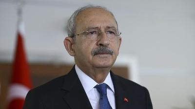 Kılıçdaroğlu, MB Başkanı Kavcıoğlu ile görüştü