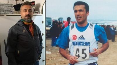 Koronavirüsten ölen eski milli atlet Zekeriya Akdoğan son yolculuğuna uğurlandı