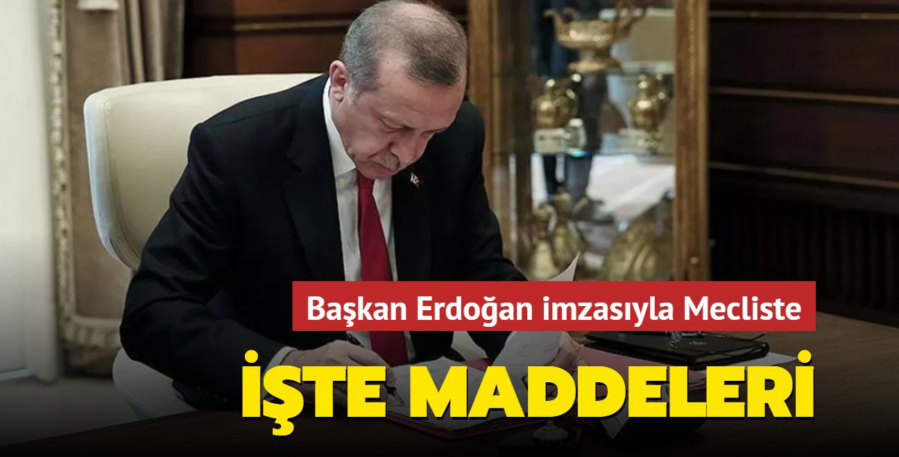 Başkan Erdoğan imzaladı: 2022 Bütçe Kanunu Teklifi Mecliste