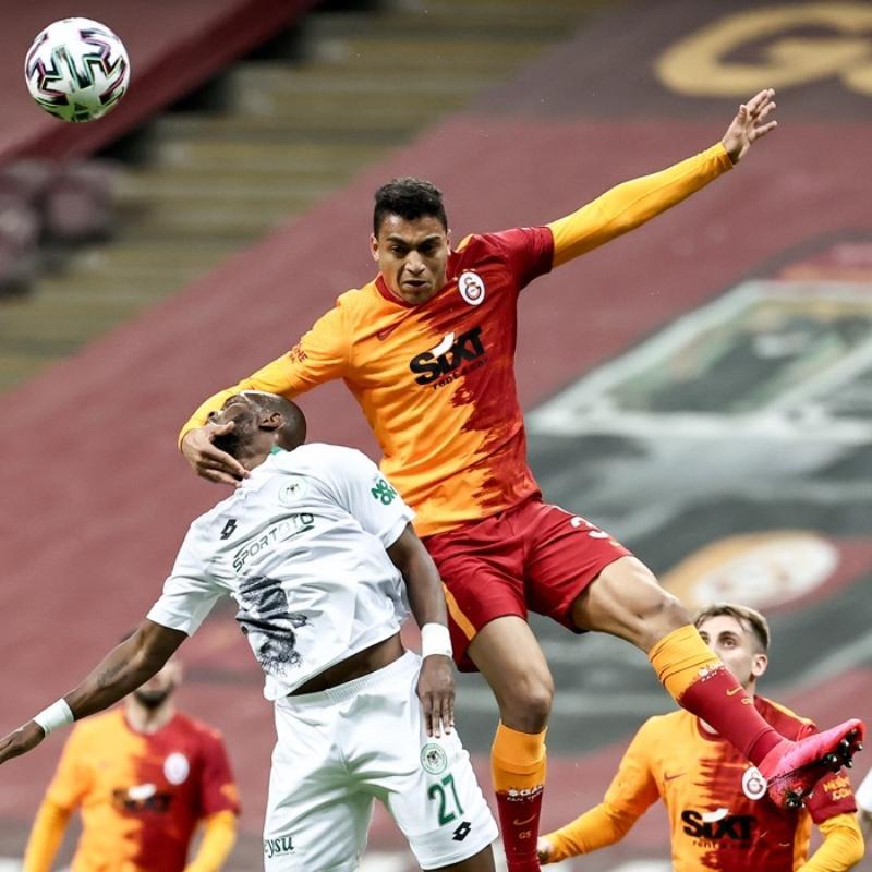 Galatasaray'dan Konyaspor'a karşı inanılmaz istatistik