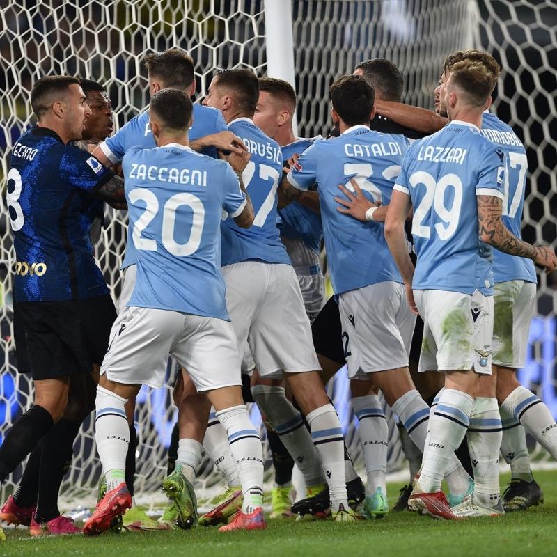 Galatasaray'ın rakibi Lazio, Inter'i devirdi; maçın ardından ortalık karıştı