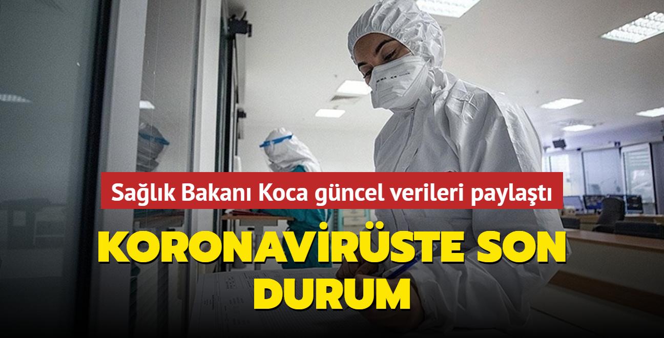 Sağlık Bakanı Koca, Kovid-19 salgınında son durumu açıkladı... İşte 16 Ekim 2021 koronavirüs tablosu