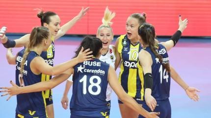 Fenerbahçe Opet, VakıfBank'ı deplasmanda devirdi