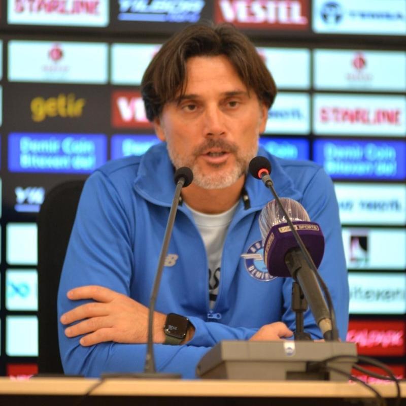 Vincenzo Montella: Şans bizim yanımızda değildi