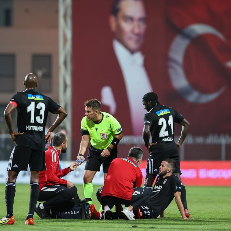 Beşiktaş'a bir iyi bir kötü haber
